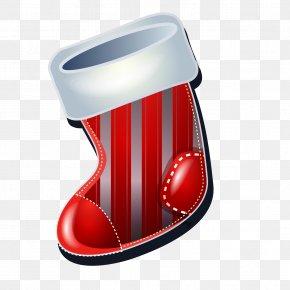 Vector Christmas Boots - Shoe Boot Euclidean Vector PNG