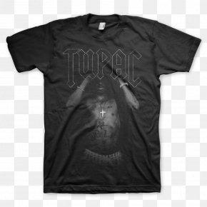Tupac - T-shirt Musician Clothing Punk Rock PNG