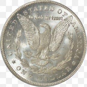 Morgan Dollar - Quarter Silver Morgan Dollar United States Dollar Coin PNG