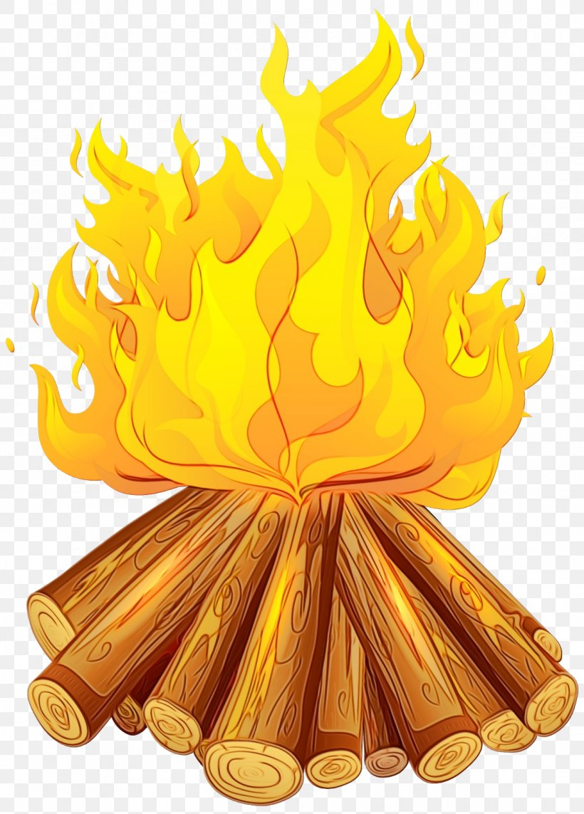Yellow Clip Art Fire Flame, PNG, 1147x1600px, Watercolor, Fire, Flame, Paint, Wet Ink Download Free