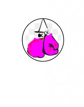 Boxing Glove Clipart - Boxing Glove Pink Clip Art PNG