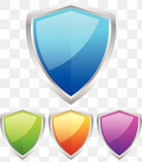 Shield Illustration - Shield Download Escutcheon Icon PNG