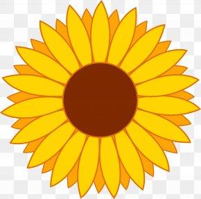Flower Clip Art - Common Sunflower Clip Art PNG