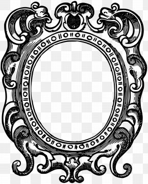 Baroque Vector - Picture Frames Borders And Frames Clip Art PNG