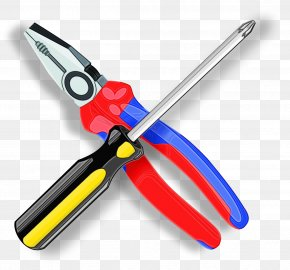 Metalworking Hand Tool Diagonal Pliers - Wire Stripper Cutting Tool Pruning Shears Tool Snips PNG