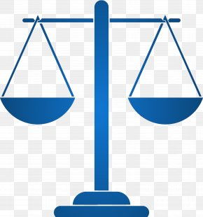 SCALES - Measuring Scales Silhouette Justice Clip Art PNG