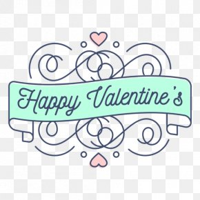 Valentine's Day - Valentine's Day 14 February Greeting & Note Cards Lettering Love PNG