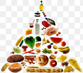 Food Pyramid - Food Pyramid Healthy Eating Pyramid Nutrition Clip Art PNG