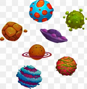 Planet - Planet Cartoon Illustration PNG