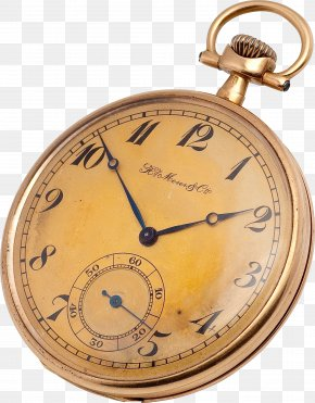 Clock Image - Pocket Watch Antique Clock PNG