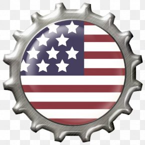 Usa Flag Decoration Clipart - Flag Of The United States Clip Art PNG