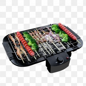 Smoke-free Baked Barbecue Material - Korean Barbecue Churrasco Grilling Oven PNG