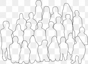 Black Group Cliparts - Person Drawing Silhouette Clip Art PNG
