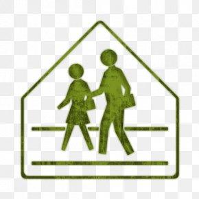School - School Zone Traffic Sign Warning Sign PNG