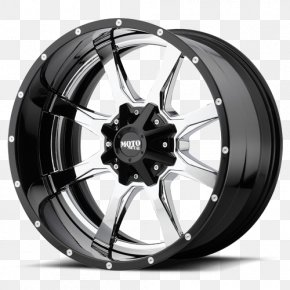 Mo Steel - Alloy Wheel Metal Tire PNG