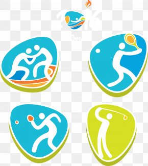 Rio 2016 Olympic Games Sports Icon - Olympic Games Euclidean Vector Silhouette Icon PNG
