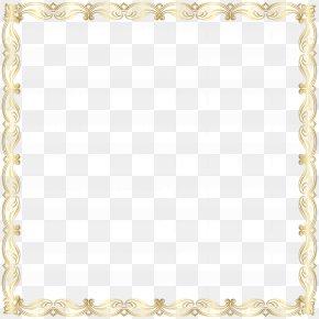 Border Frame Clip Art Image - Gold Frame Euclidean Vector PNG