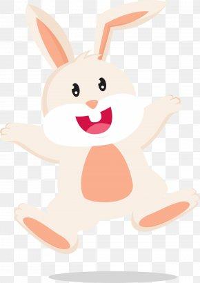 Cartoon Easter Bunny - Easter Bunny European Rabbit PNG