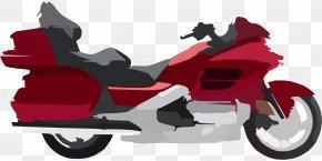Motorbike - Honda Gold Wing Touring Motorcycle Cruiser PNG