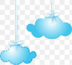 Blue Clouds - Blue Cloud Euclidean Vector Computer File PNG