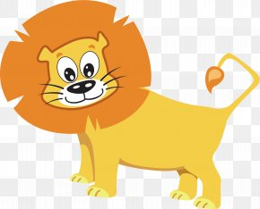 Lion Vector Element - Lion Tiger Whiskers PNG