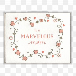 Mother's Day - Mother's Day Paper Gift Greeting & Note Cards PNG
