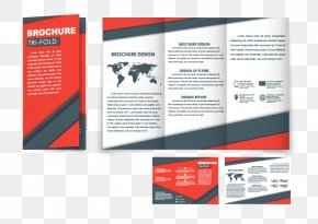 Trifold Design Vector Material - Template Brochure PNG