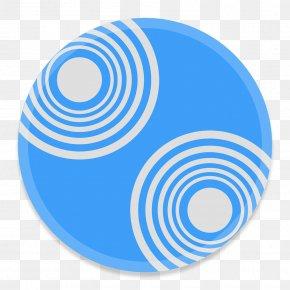 Server - Blue Symbol Spiral PNG