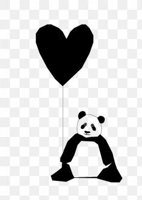 Giant Panda - Giant Panda Bear Paper Printing PNG