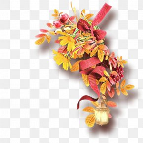 Autumn Petal - Leaf Yellow Flower Plant Cut Flowers PNG