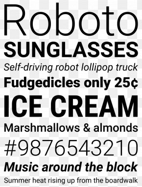 Android - Roboto Typeface Sans-serif Android Font PNG