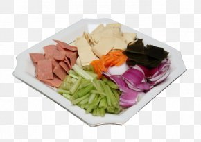 A Variety Of Vegetables - Chili Con Carne Vegetarian Cuisine Vegetable Salad PNG