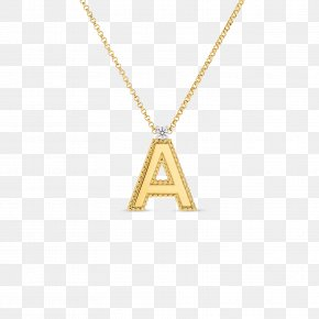 Gold Pattern Letter Of Appointment - Charms & Pendants Jewellery Necklace Chain Gold PNG