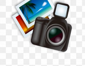 Camera And Photos - Camera Lens Photography PNG
