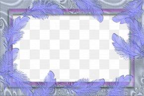 Purple Border Frame Photo - Picture Frame Kanchi Pattu Sarees Clip Art PNG