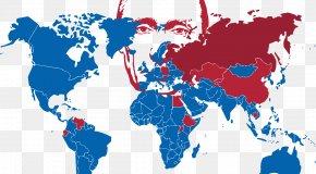 Vladimir Putin - World Map PNG