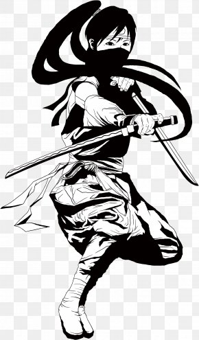 Samurai - Japan Cartoon PNG