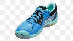 Aqua Blue Shoes For Women - Sports Shoes ASICS Basketball Shoe Sportswear PNG