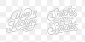 Hand Lettering - Typography Text Logo Handwriting Font PNG