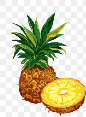 Pineapple - Pineapple Dried Fruit Organic Food Clip Art PNG