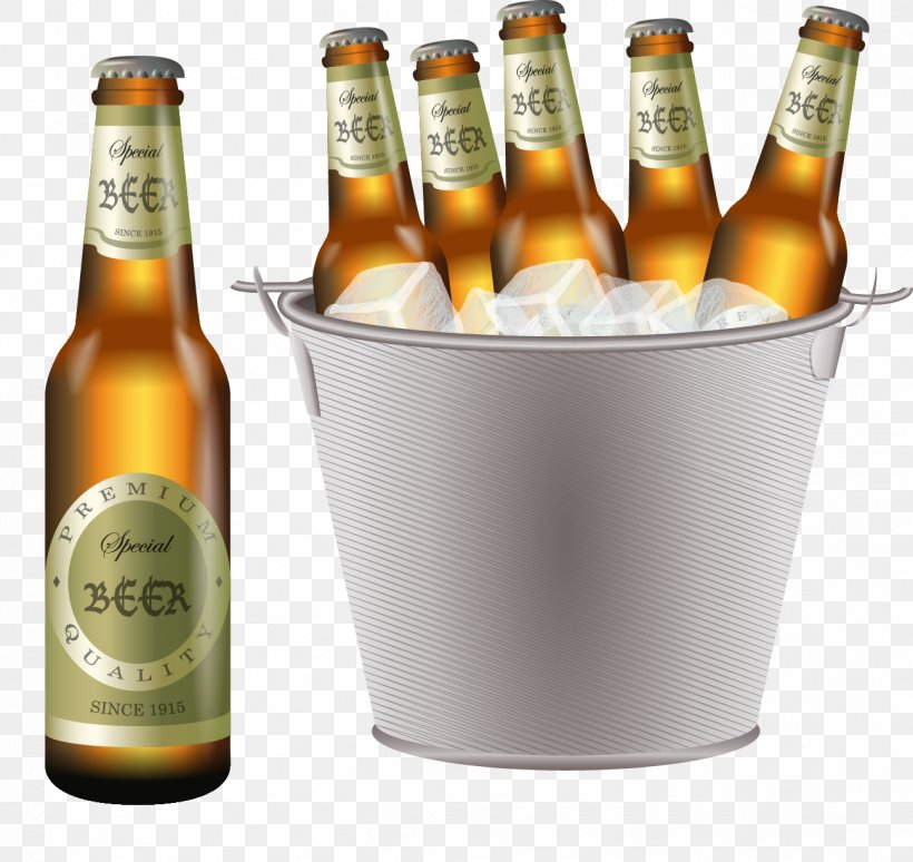 Beer Cocktail Wine Ice Beer Bucket Png 1297x1225px Beer