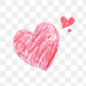 Free Love Chalk Pull Material - Heart Clip Art PNG