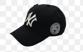 Men's Summer Influx Of Korean Baseball Cap - New York Yankees Baseball Cap Fullcap PNG