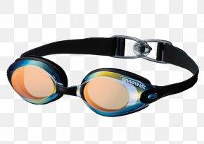 Glasses - Swedish Goggles Glasses Swimming Light PNG