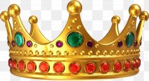 The Golden Crown Of The Gem - Crown Of Queen Elizabeth The Queen Mother Clip Art PNG