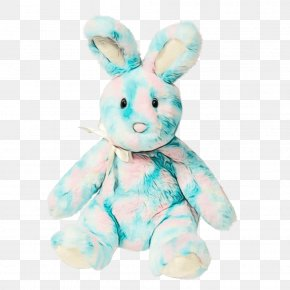 Animal Figure Textile - Easter Bunny Background PNG