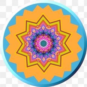 Photo Of Rainy Day - Mandala Pattern PNG