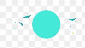 Blue Circle Creative Decoration - Logo Blue Brand Font PNG