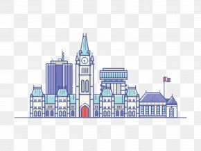 London City Building Free To Pull The Material - London Drawing Illustration PNG