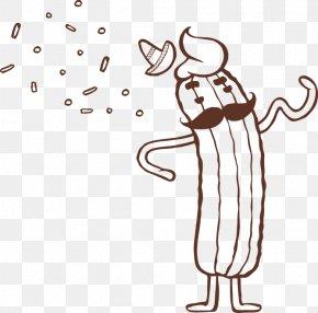 Churro - Human Behavior Line Art Thumb Clip Art PNG